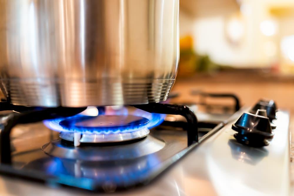 Gas-Kochfeld © Kristina Blokhin. stock.adobe.com