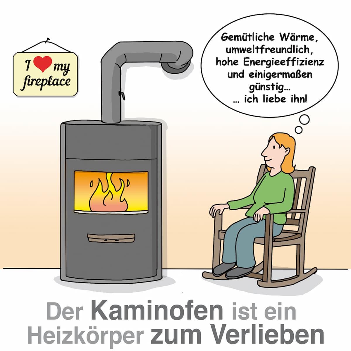 Kaminofen: Gemütlich und umweltfreundlich