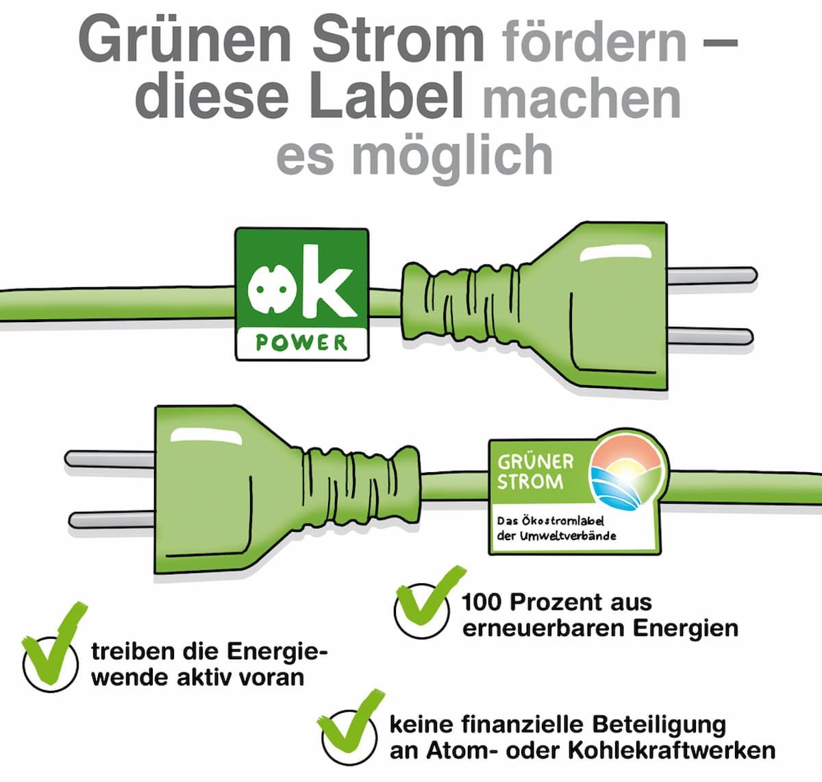 Grünen Strom fördern: Diese Gütesiegel sind vertrauenswürdig