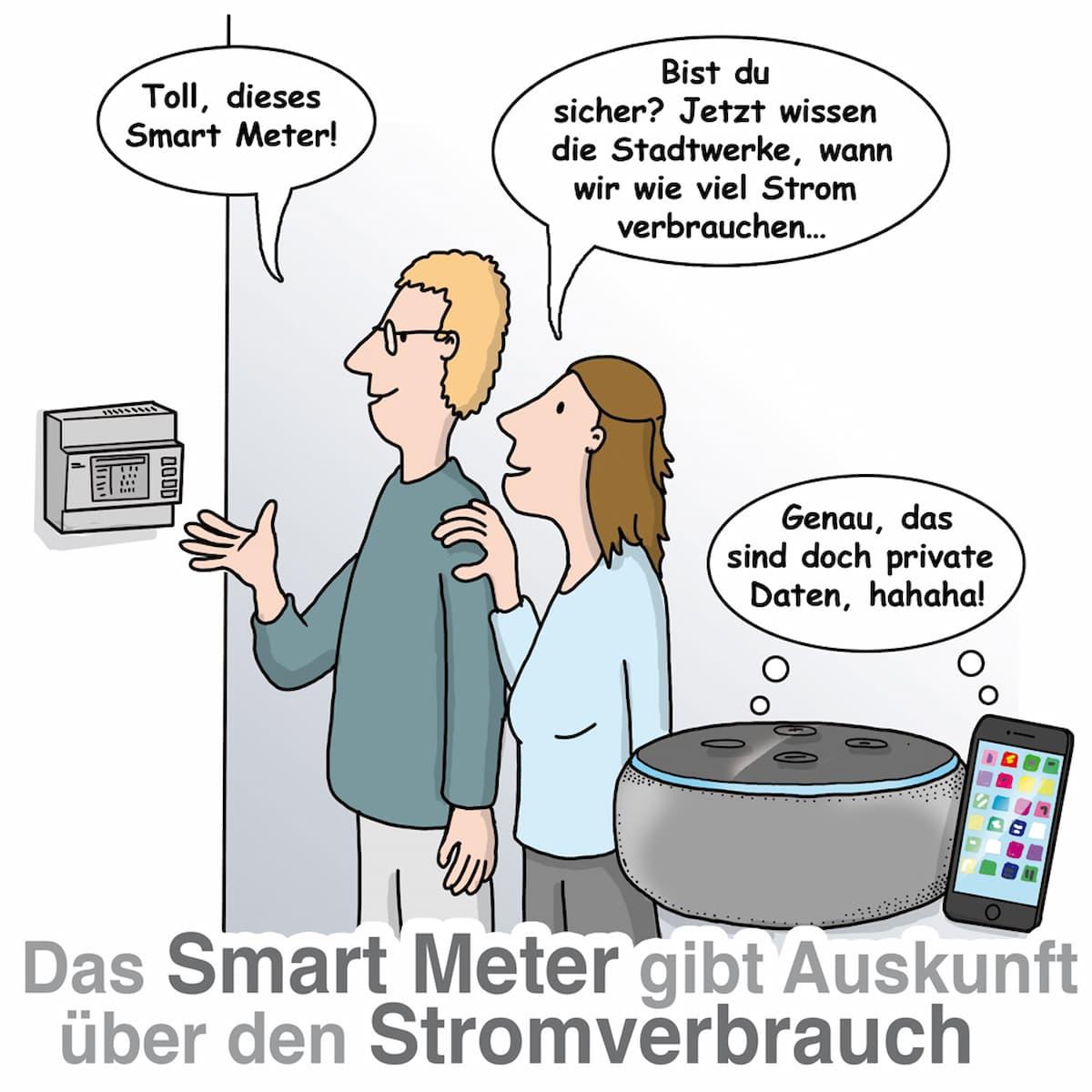 Smart Meter: Der Datenschutz ist ein wichtiges Thema