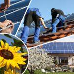 Strom aus Solarenergie