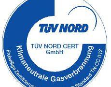 Ökogas Zertifizierung TÜV NORD