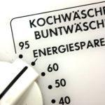 Stromsparen beim Waschen